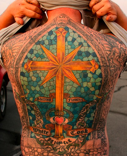 Cross Tattoos For Back