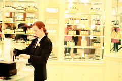 Perfume (Victoriano) Tags: uk england london hat smart shop wow store lab perfume harrods pot pots meal buy sell trade luxury seller consumerism scent polite slave buying flogr