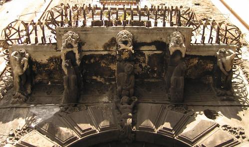 Catania - Balcone di Micio Tempio