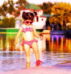 .autumn. (mylaphotography) Tags: autumn lake reflection mi ripples rahi childphotography jaber mylaphotography fairytalephotography