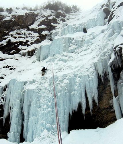 Cascade et ski de rando avec JY 043