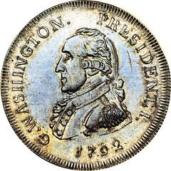 Getz silver pattern Davis-Ford-Boyd specimen obverse