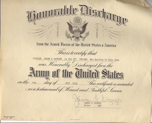 Photo: Certificate