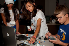 Collin College Robotics Camp 2010 (James T Sizemore) Tags: education texas technology engineering science robots math robotics frisco summmercamp collincollege