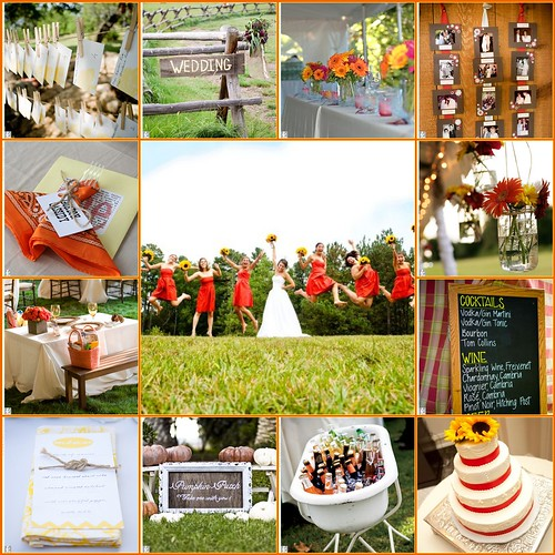 Outdoor Wedding Ideas For Fall On A Budget: Charlotte NC Wedding Planner: SJB Weddings & Events