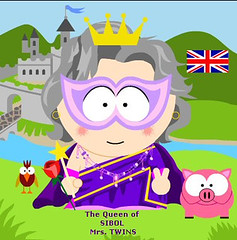 south park - The Garden Bell made this for me I was having trouble. I went to bed around 12.30 checking my mail, blogs, Flickr on my iphone and I saw a mail from Kate saying she had made me my South Park! Well I jumped out of bed, ran down the stairs,