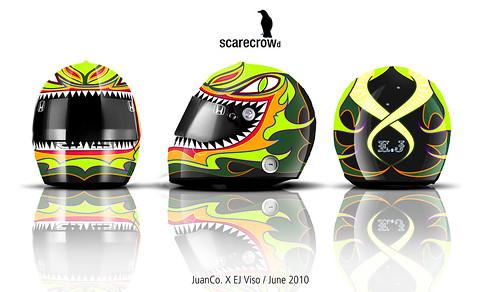 """SCARECROWd"" Helmet"