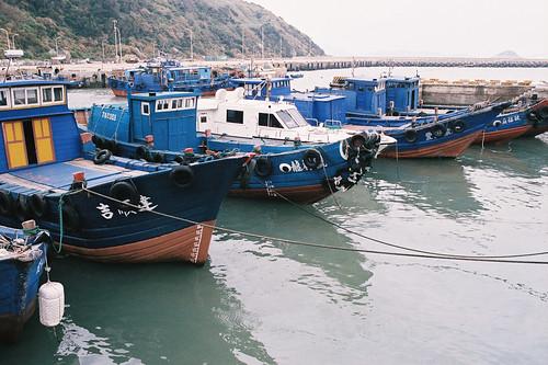 白沙港漁船