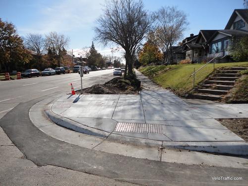 Corner Curb Extension