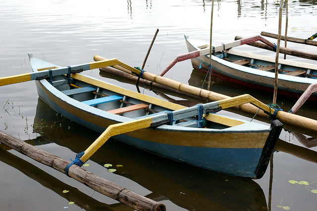 Balinese fishing boats