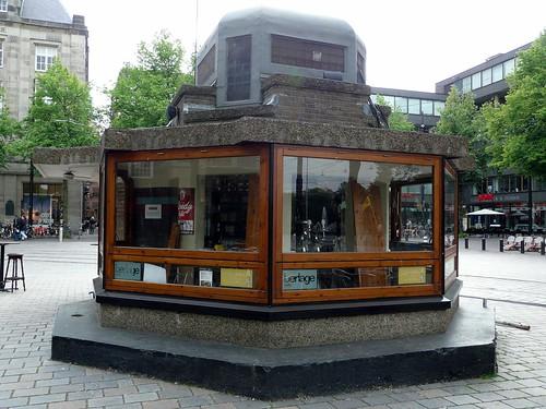 Berlage Kiosk, Buitenhof, Haia, Holanda