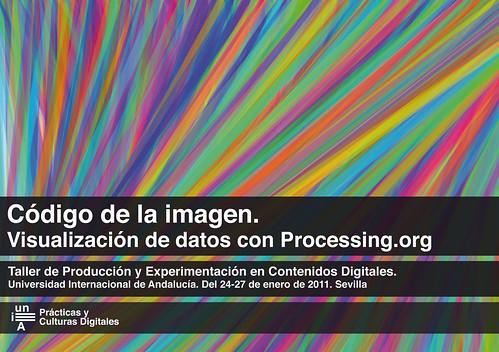 Código de la imagen. Visualización de datos con Processing.org