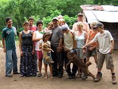 Familierne Overby Hansen og Miranda Jarquin
