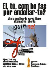 Cartell Xerrada guifi.net a Sabadell