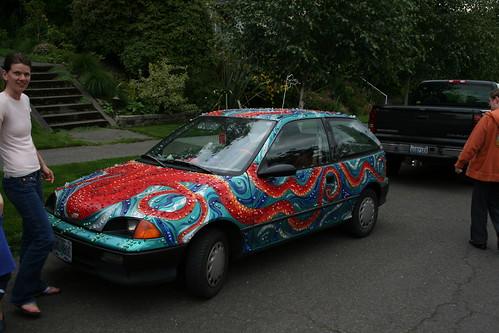 The Octopod Art Car by Emily Hall - Portland, OR