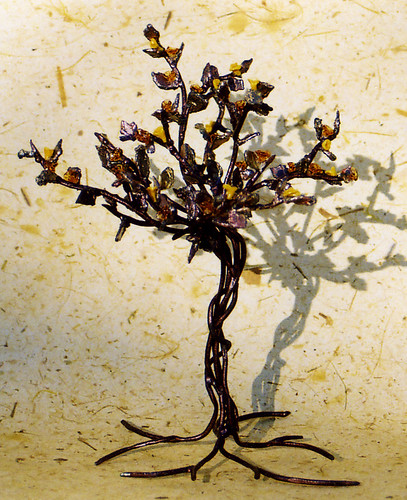 Maple tree sculpture