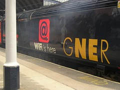 Mind the gap . . . (YorkStories) Tags: york england technology documentary trains wifi mindthegap platforms stations gner yorkstation howwearenow