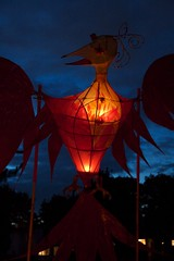 phoenix alight (Graham Ballantyne) Tags: canada phoenix vancouver bc illuminares lantern lanternfestival eastvancouver troutlakepark publicdreams canoneos30d canonefs1785mmf456isusm illuminares2007