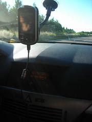 Navegando con GPS por Baviera