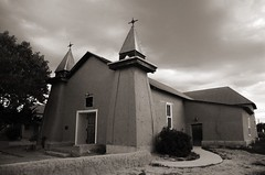 Old San Ysidro Church (nicholsphotos) Tags: newmexico church sepia historic adobe corrales nicholsphotos mywinners albuquerquewomensflickrmeet oldsanysidrochurch