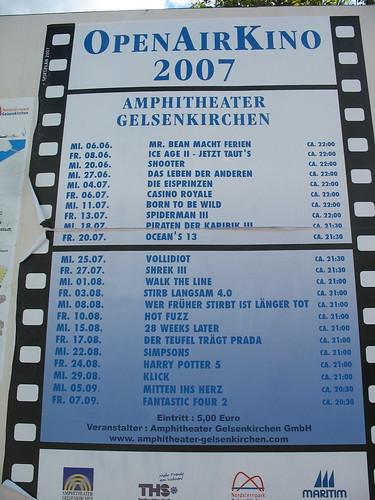 OpenAir Kinoprogramm