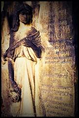 Henry's Angel (Rosemarie Hughes) Tags: uk england sculpture cemetery grave graveyard angel death emotion britain cemetary tomb tombstone goth atmosphere dreams gravestone dumpr