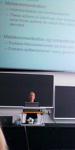 Anne Mette Thorhauge defendes her PhD dissertation