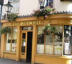 In a Nutshell (Sandy49) Tags: pub britain cosy nutshell smallest burystedmunds apparantly bitofasqueeze