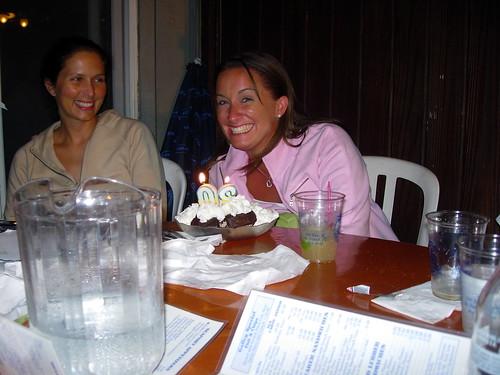 Christine and Cake