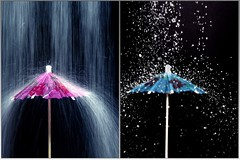 Sugar Rain...................Sugar Snow (Fer Gregory) Tags: pictures two snow art rain mxico umbrella mexico code
