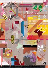 Nando Costa - Chaotic Dialogue Poster