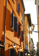 Orange! (Vetto) Tags: street orange yellow caorle