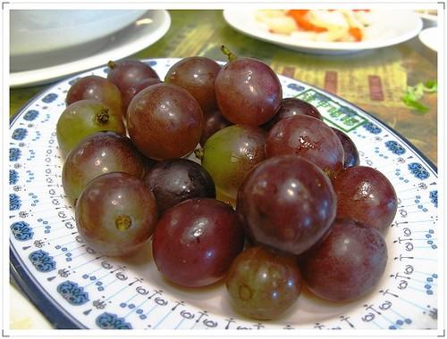 美濃粄條飯後水果