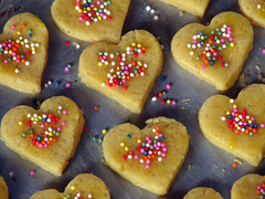 ready to bake (alaya) Tags: colors cookies heart bake