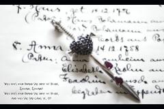 Sword  (michael_hamburg69) Tags: blood heart charm drop sword font schrift charms herz t