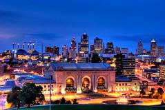 Kansas City twilight