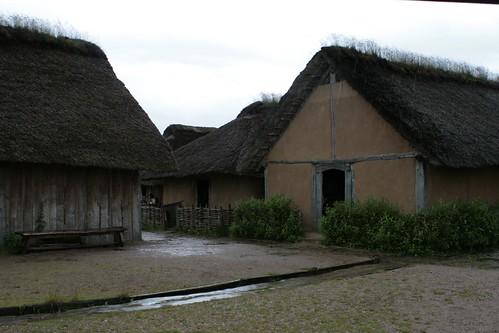 Die Wikinger Häuser in Haithabu WHH 20-06-2010