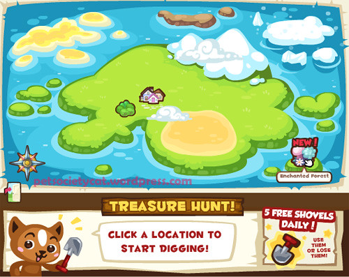 386 new treasure map