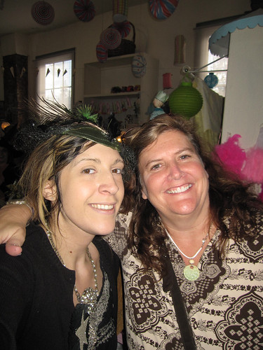 Witches Tea: Me and Geralyn!