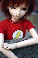 Red wolf (boratoki) Tags: bjd niky bluefairy