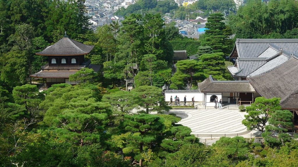Ginkaku-ji From Above