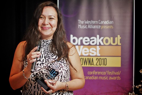 Breakout West WCMA Awards 2010