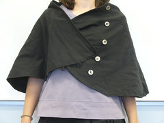 shawl / cape (sneezerville) Tags: hand alabama jersey cape shawl recycle stitched chanin refashion upcycle