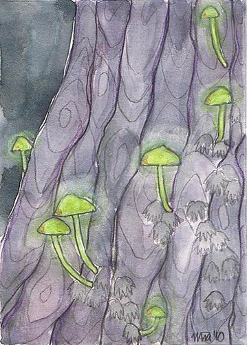 luminous shrooms