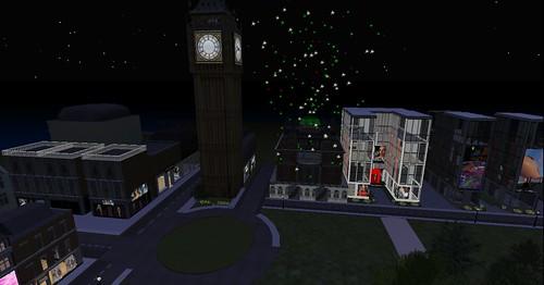 Fireworks in Hyde Park