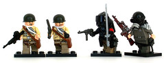 Weird War II - Skirmish (Zeessi) Tags: lego wwii weirdwar minifigures weirdwarii