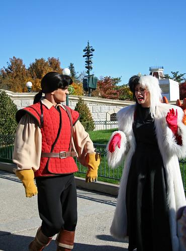 Gaston and Cruella