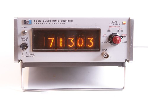 Making classic frequency counters into Nixie clocks | Evil