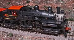 245) Duluth GA, N Atlanta Train Show - Western Maryland #6 steam engine [101] (Houckster) Tags: 2005 railroad train flickr engine rr 101 locomotive steamengine photostream westernmaryland modelrailroad hogauge minoltamaxxum7d houckster natlantatrainshow tamron182003563