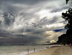 Surreal Beach (espion) Tags: sky beach surreal 100v10f cloudscape 500v eastcoast chalcidic